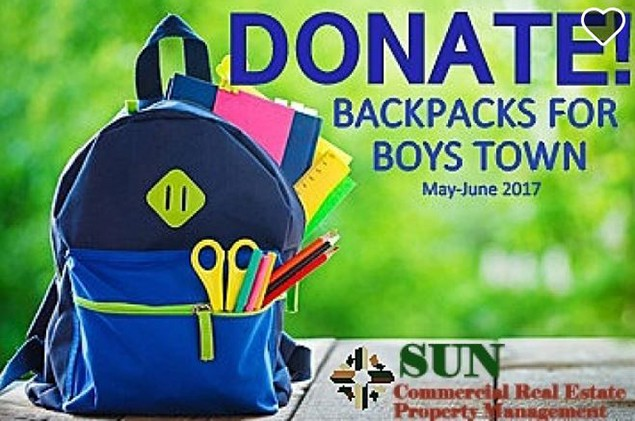Backpack Drive for Boys Town Nevada